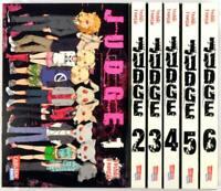 Judge - kompl. Serie # 1-6 - Carlsen Manga 2011 - neuwertig