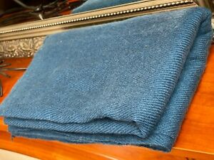 Cashmere Pashmina Scarf Handwoven Nepal wrap Shawl Knit Woven scarf teal blue