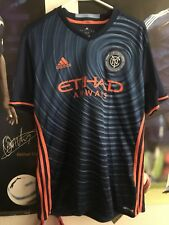 2016 New York City Fc Kwadwo Poku Away Jersey Large Football Tampa Bay Rowdies