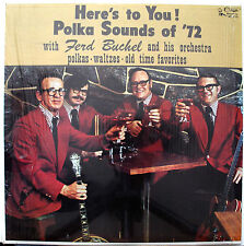 LP- Fred Buchel- Here's To You!- 1972 CUCA KS-2131- Shrink wrap- NM Condition