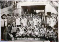 Fortuna Düsseldorf + DFB Pokal Sieger 1980 + Fan Big Card Edition F164 +