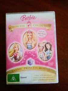Barbie Princess Collection - 3 Barbie Princess Movies DVD