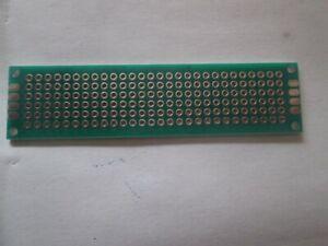 Plaque d'essai époxy circuit imprimé double face 20mmX80MM (1)