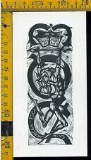 Ex Libris Originale Alexandro Radulescu c 095