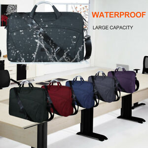 Waterproof Canvas Sleeve Bag with Practical Pockets for Samsung Galaxy View 18.4