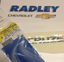 Chevrolet GM OEM 11-15 Cruze Trunk Lid-Emblem Badge Nameplate Left 95989983 NEW