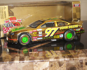 #97 Racing Champions 1:24 CHAD LITTLE GOLD John Deere LIMITED EDITION NASCAR