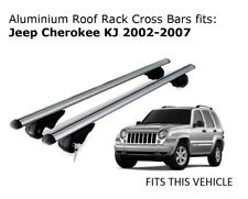 Aluminium Roof Rack Cross Bars fits JEEP CHEROKEE KJ with roof rails 2002-2007