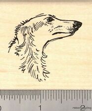 Borzoi Russian Wolf Hound Rubber Stamp G12109 WM dog, hunting