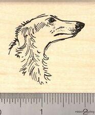 Borzoi Russian Wolf Hound Rubber Stamp G12109 WM dog, hunting