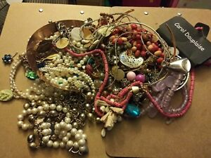Junk Jewelry, Craft & Harvest Over 2 lbs.