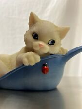 """Charming Purrsonalities Tails Figurine """"Have I Got A Scoop For You� Cat Enesco"""