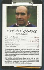 TOP TRUMPS-FOOTBALL MANAGER-2008-ENGLAND-SIR ALF RAMSEY