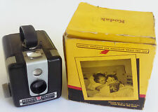 Vintage Kodak Brownie Hawkeye Camera Flash Model WITH Box Takes 620 Film.