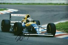 Alain Prost 1993 Grand Prix signed large photo F1 Williams FW 15C World Champion