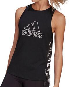 adidas Own The Run Celebration Womens Running Vest Tank Top - Black
