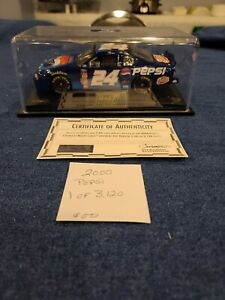 2000 Jeff Gordon Pepsi Racing 1/24 Scale Die Cast Car With Case 1 of 3,120.