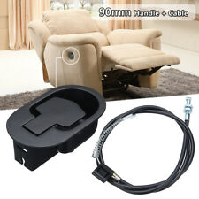 Recliner Chair Sofa Handle Cable Couch Release Lever Replacement Metal Cable Kit