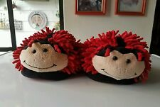 Ladybug Slippers/ house shoes Aroma Home Fun for feet up to 9.5 size