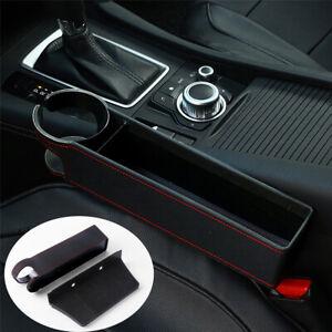 Universal Car Front Seat Gap Filler Organizer Pocket Storage Organizer Catcher
