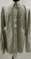 Orvis Shirt Size XL Men's Long Sleeve Button Up Down Striped Multicolored EUC