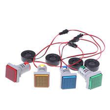 LED Digital Voltmeter Ammeter Hertz Meter Signal Lights Indicator TesterODUSHACS