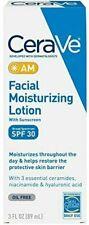 CeraVe Facial Moisturizing Lotion AM SPF 30   3oz   Daily Face Moisturizer w/SPF