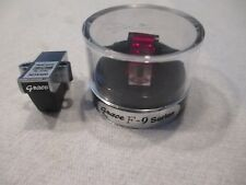 GRACE F-9 CARTRIDGE AND GENUINE GRACE F-9E RUBY STYLUS IN PLASTIC DISPLAY CASE