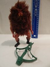 He-Man MOTU Masters / Universe GRIZZLOR Loose w/ Weapon Tight Legs Stands Holds