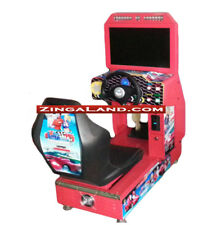 Kids Outrun Simulator Arcade Racing Car Game Commercial Coin Operated 1 Player