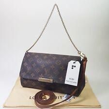 Authentic Louis Vuitton Favorite MM Monogram M40718 Shoulder Clutch Mini LC331