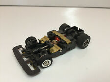 """AURORA AFX SPEED-STEER NOS Slotless type """"A"""" Chassis with Chrome Wheels NEW+++HO"""