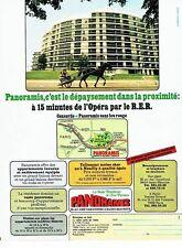 Publicité Advertising 057  1978   La Belle Résidence Panoramis Est Parisien R.E.