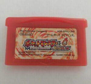 Pokemon FireRed Version - Japan (Nintendo Game Boy Advance, 2004)