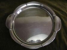 french silverplate Gallia-Christofle tea tray art deco diameter 35,5cm