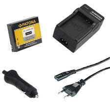 Batteria Patona + caricabatteria casa/auto per GoPro HD HERO NAKED