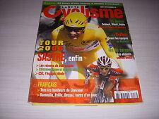 PLANETE CYCLISME 17 08.2008 MIROIR du TOUR 1er SASTRE TOUTES les ETAPES DECRITES