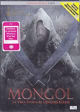 2 Dvd **MONGOL ♦ LA VERA STORIA DI GENGHIS KHAN** Ediz. speciale 2 slipcase 2008