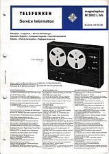 Service Manual instructions for tele radio M 101509. 6oz