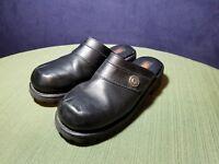 Harley Davidson Willie G Black Clog Slip Ons Size 7