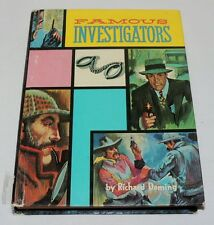 Famous Investigators by Richard Deming, Whitman Publishing 1963