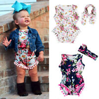 Aqua Blue Rosettes Bodysuit Aqua Blue White Wave Stripe Baby Girl Dress NB-12M