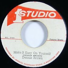 "Dennis Brown/Studio 1 All Stars ""Make It Easy On Yourself"" Reggae 45 Studio One"