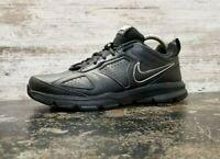 Mens Nike T-Lite XI Leather Athletic Shoes Sz 9 Eu 42.5 UK 8 Used 616544-007