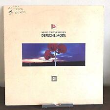 Music For the Masses Depeche Mode 1987 Vinyl Sire Records 1st Press Strangelove