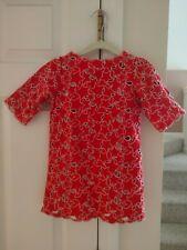 stella mccartney kids red star dress 3y