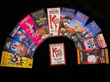 10+ Musical UK Tour Theatre Flyers. Kinky Boots, Dirty Dancing, Les Misersbles