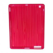 PINK GEL BACK COVER SKIN TOUGH TPU CASE FOR APPLE iPAD 2, 3 or 4 UK SELLER NEW