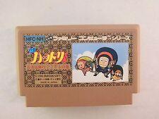 NES -- NINJA HATTORI KUN -- Famicom. Japan game. Work fully!!