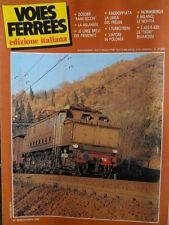 Voies Ferrees 26 1986 Storia della Milanese  - Rivarossi E 632 E 633 - ALn 668 r